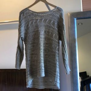 Alice + Olivia gray sweater